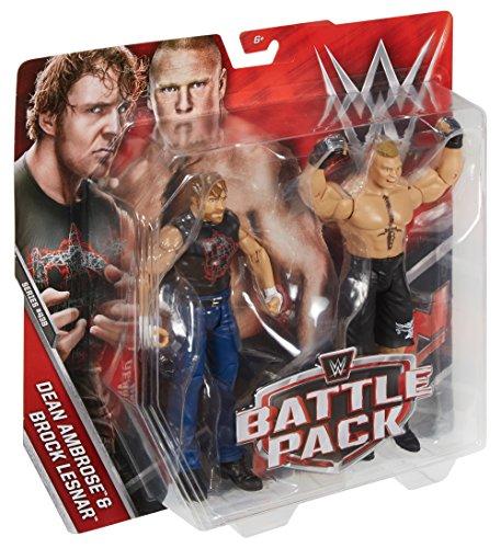 WWE Dean Ambrose & Brock Lesnar Action Seried 43 B Figures, 2 Pack