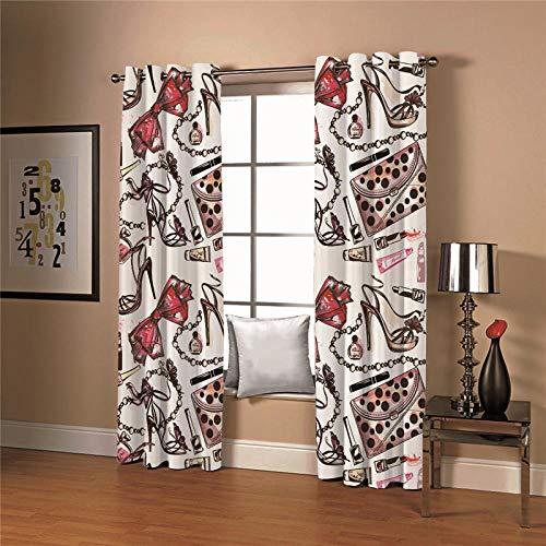 cortinas salon modernas una pieza
