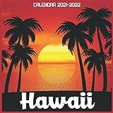 Hawaii Calendar 2021-2022: April 2021 Through December 2022 Square Photo Book Monthly Planner Hawaii small calendar