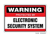 Electronic Security System Sign