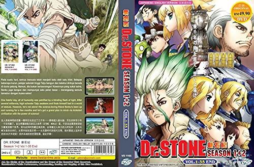 Anime DVD Dr. Stone Season 1 & 2...