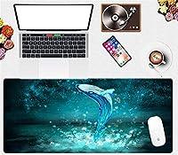 マウスパッド 動物の風景マウスパッド大型コンピューターゲームキーボードパッド防水ラップトップパッド多機能ホームデスクパッド-(A)_90X40Cm
