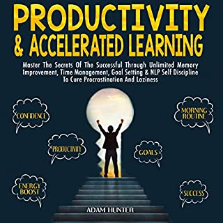 Productivity & Accelerated Learning audiobook cover art