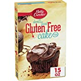 Betty Crocker Gluten Free Devil's Food Cake Mix, 15-Ounce Boxes (Pack of 6)