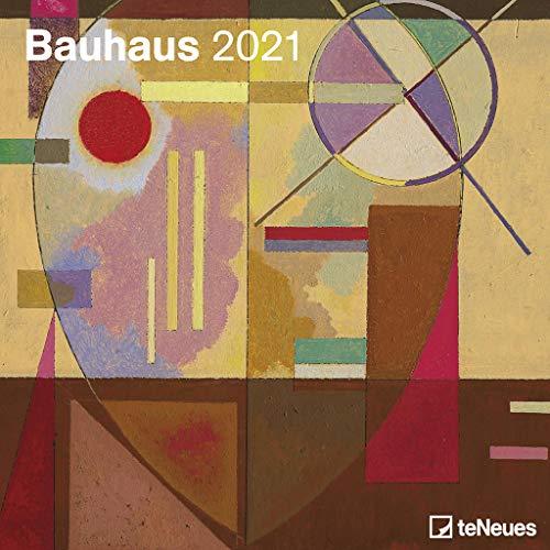 Bauhaus 2021 - Wand-Kalender - Broschüren-Kalender - 30x30 - 30x60 geöffnet - Kunst-Kalender