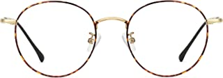 Cyxus Blue Light Glasses Women UV Protection Anti Eye Strain Eyeglasses Computer Eyewear for Men Sleep Better Stylish Frame