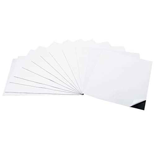 2,000 Self Adhesive  Flexible Magnetic Sheets 4x6 inches