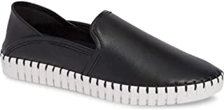 Nic+Zoe Womens Janet Leather Low Top Slip On Fashion Sneakers