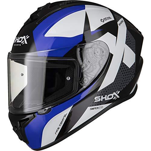 Shox Sniper Evo Sharpe Integralhelm M Blau