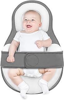 JARDIN Baby Lounger بالش آشیانه نوزاد تازه متولد شده برای خوابیدن همزمان ، صندلی خواب تازه متولد شده با پنبه فوق العاده نرم و قابل تنفس ، پایه قابل تنظیم یک توت فرنگی قابل حمل برای بچه های 0-12 ماهه