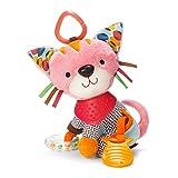 Skip Hop Bandana Buddies Baby Activity and Teething Toy with Multi-Sensory Rattle