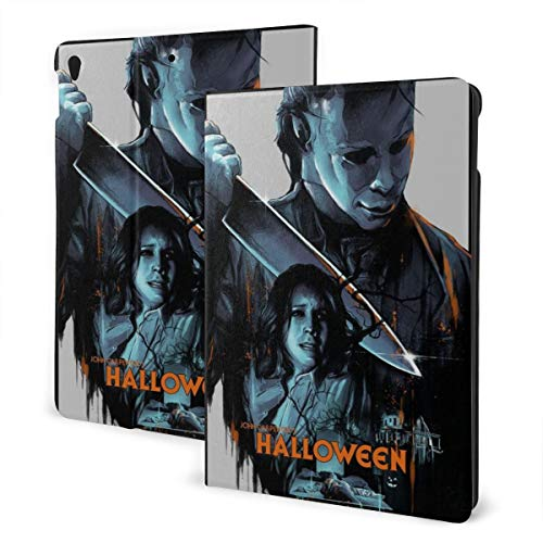 Mi_Chael The My-Ers Slim Lightweight Smart Shell Stand Hard Back Protective Cover Case with Auto Wake/Sleep for Ipad