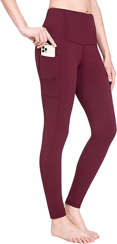 BALEAF Women's Fleece Max 51% OFF Lined Leggings 1 year warranty High Waiste Resistant Water