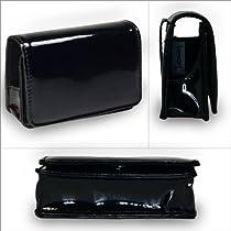 「全3色」カメラ ソフト ケース レザー ブラック Camera Case (172-2)