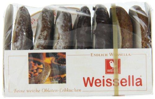 Weiss Weissella 3 fach Oblatenlebkuchen, 21er Pack (21 x 200 g)