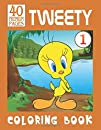 """Tweety Coloring Book Vol1: Funny Coloring Book With 40 Images For Kids of all ages with your Favorite """" Tweety """" Characters."""