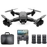 Mobiliarbus RC Drone CSJ S166 GPS con Fotocamera 1080P Seguimi Ritorno Automatico a casa WiFi FPV...