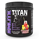 ENLITE Powdered Weight Loss Formula- Increase Fat Burning, Boost Energy and Reduce Appetite |Green Tea, Yohimbine, and Natural Caffeine| for Men and Women (Strawberry Lemonade)