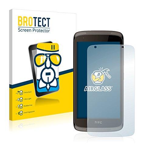 BROTECT Panzerglas Schutzfolie kompatibel mit HTC Desire 526G Dual - AirGlass, extrem Kratzfest, Anti-Fingerprint, Ultra-transparent