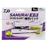 ダイワ(DAIWA) タチウオ サムライ太刀 ワインドダート爆釣パック 14g 紫ラメゼブラ ルアー