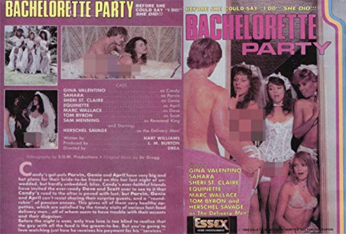 Bachelorette Party (Essex Video) (Printed Disc Only)