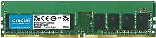 ذاكرة خادم كروشال 16GB DDR4 DIMM 288-pin - 2666 ميجاهرتز / PC4-21300 - CL19-1. 2 فولت - غير مصقول - ECC CT16G4WFD8266