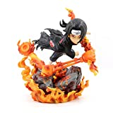 HYKCSS Naruto Uchiha Itachi Series Resonancia Posure Postura PVC Material Anime Figura Modelo Toys B...