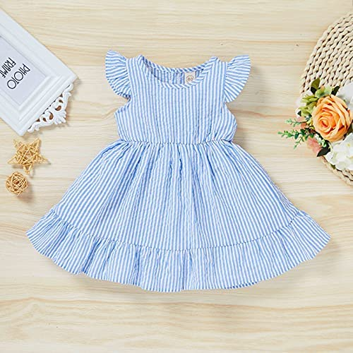 Childrens blue dress _image2