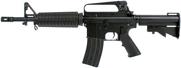 Fucile softair golden bow fucile m4 m733 full metal softair (0.9 joule) B01L3WW2MM