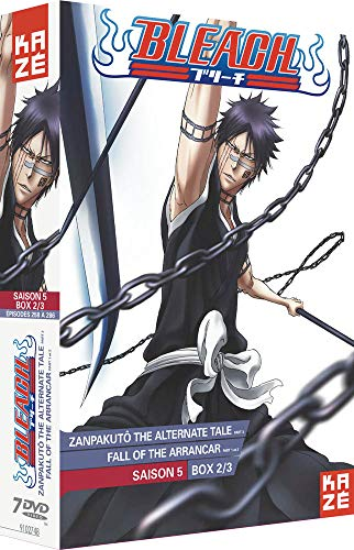 Bleach-Saison 5 : Box 2/3 : Zanpakuto Alternate Tale 2 + Fall of The Arrancar (Partie 1)