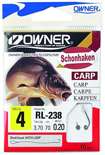 Balzer Owner Schonhaken Karpfen Gr. 4