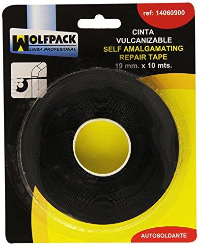 Wolfpack 14060900 - Nastro, vulcanizzazione, 10 m x 19 mm