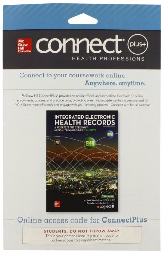 Connect 2-Semester Access Card for Integrated Electronic Health Records