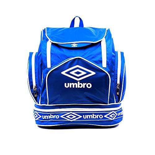 Umbro Unisex Retro Italia Tagesrucksack, blau, 30L