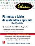 FORMULAS Y TABLAS DE MATEMATICA APLICADA (Schaum)