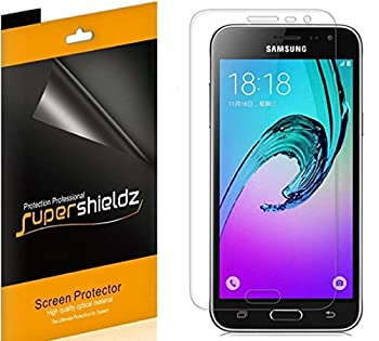 6 Pack  Supershieldz Designed for Samsung Galaxy J36V Screen Protector High Definition Clear Shield  PET