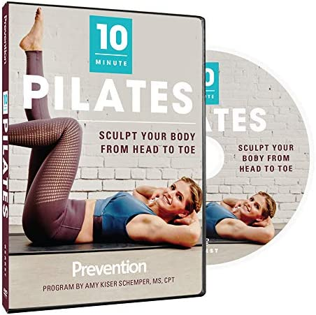 Prevention 10 Minute Pilates The Sculpting Pilates Workout That Does It All in 10 Minutes product image