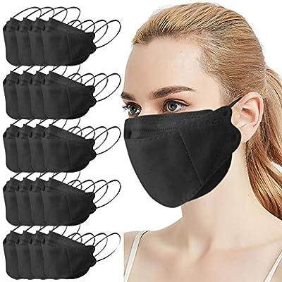 Black Fish Non Woven Face Maske Masque High-Den...