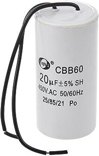 SODIAL(R) CBB60 20uF Condensador SH de funcionamiento del