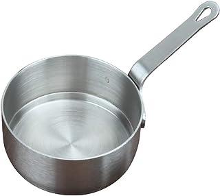 CWTIAN Leche Olla Lechera Cacerola de Acero Inoxidable Mini/Salsa Sirviendo Pot, Salsa de Mantequilla Sopa de Leche Olla de Cocina Pan Mini calefacción Utensilios (S + L, 2Pcs / Set)