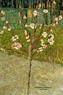 Almond tree in blossom: Van Gogh, Lined/ ruled journal ( notebook, composition book) 160 pages, 6x9 inch (15.24 x 22.86 cm) Laminated