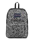 JanSport High Stakes White Geo Flock One Size