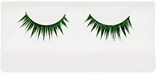 EMILYSTORES Green Wing Shining Star Costume Eye Lashes For Halloween, Dramatic Eyelashes, Party Looking, 1 Pair