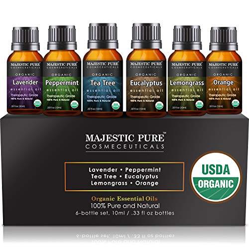 MAJESTIC PURE Aromatherapy Essential Oils Set