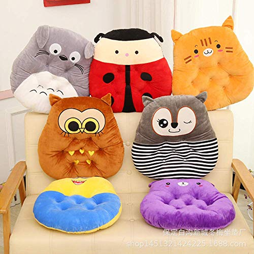 Chair Pads Seat Cushions A Set of 4 Cartoon Thickness Cute Office Mat Car Student 40 * 40Cm for Kitchen Dining Garden Chair Cushion Seat Pads