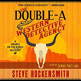 The Double-A Western Detective Agency cover art