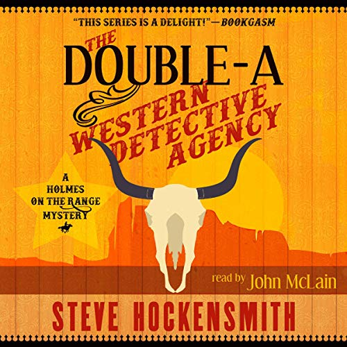The Double-A Western Detective Agency audiobook cover art