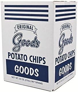 "Good's Potato Chips (Original ""Blue Bag"", Two 2 lb. Boxes)"