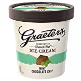 Graeter's - Handcrafted, French Pot Ice Cream - Mint Chocolate Chip, Pint (8 count)