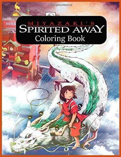 Miyazaki's Spirited Away Coloring Book: 千と千尋の神隠し El viaje de Chihiro (Sen to Chihiro no kamikakushi)